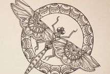 Henna Designs for Bookmarks