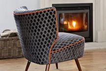 Cocktail stoelen net even anders / Wat zijn ze mooi! Oud ontwerp maar dan in een nieuw jasje. Deze cocktail stoelen zijn tijdloos en uniek.