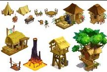 Game Art / Game assets, elements, inspiration,GUI,TILE / by Iftikhar Shaikh