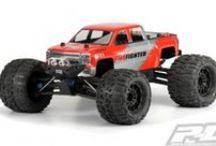 Pro-Line Racing Monster Truck / Pro-Line racing offers bodies, wheels and tires for today's most popular Monster Truck RC Car kits. If you are looking for tires and wheels that will last you need to check out Pro-Line! Pro-Line also has multiple bodies that will add realism and selection to your hobby. See our entire line up here http://prolineracing.com/monster-truck/
