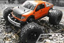 Pro-Line Racing 1:16 Scale / Pro-Line offers a variety of bodies, wheels and tires for the 1:16 size.