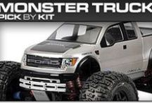 Pro-Line Racing Monster Truck Pick-By-Kit / If you know you have a Monster Truck but you aren't sure what Pro-Line products will fit then check out our pick-by-kit section to see what Pro-Line makes specifically for you!