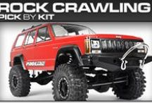 Pro-Line Racing Rock Crawling Pick-By-Kit / If you know you have a 1:8 buggy but you aren't sure what Pro-Line products will fit then check out our pick-by-kit section to see what Pro-Line makes specifically for you!
