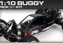 Pro-Line Racing 1:10 Buggy Pick-By-Kit / If you know you have a 1:10 buggy but you aren't sure what Pro-Line products will fit then check out our pick-by-kit section to see what Pro-Line makes specifically for you!