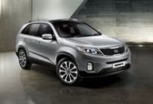 KIA Sorento / The new Sorento features a #redesigned front grille and bumper, as well as Daytime Running Lights now #positioned above the new HID (High Intensity Discharge) headlights.  The Rear LED combination lights have also been #reshaped to give the new Sorento a more #sporty and #refined look. Available at www.kiacars.co.za