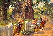~ CHILDREN'S ILLUSTRATIONS ~ / by Beata Gawlik