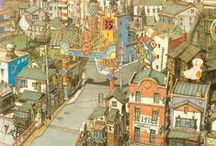 Архитектура: Эскиз, акварель и рисунок (Architecture: Drawing, watercolor & drawing)