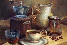 Tea? Coffee? / Paintings