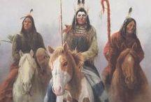 Коренные американцы, искусство и фото (Native Americans, art and photos)