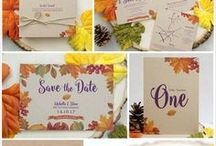 Wedding Stationery Collections / A selection of the bespoke, handmade wedding invitations from The Little Touches.