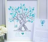 Wedding Fingerprint Trees / We design & create unique fingerprint trees for weddings all over the world. Contact The Little Touches if you would like one.