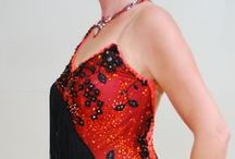 Crystal Edge / Dance Dresses and Accessories