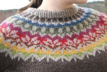 Stickade tröjor / Islandströjor