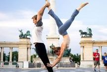 ACRO YOGA / Yogis show us how its done, bring it!