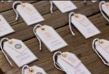 Escort Cards and Guestbook Ideas