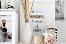 Shades of Grey and White / Decor