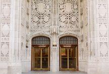 Doorways / Love textures and characters of doors around the world