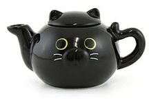 Tea Time-mad tea party ♥ / welcome to the tea party cute tea pot, cat, wonderland and other beautiful stuff