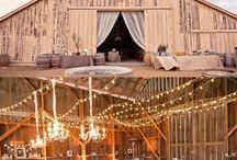 Inspirasjon til låvebryllup  / Inspiration to barn wedding