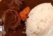 Curry!   カレー! / 日本のソウルフード、カレーライス。 そしてインドカリー。