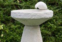 Chilstone Birdbaths / Stone birdbaths for the garden by Chilstone