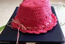 I miei lavori ad uncinetto / Creo  lavoretti a maglia ed uncinetto