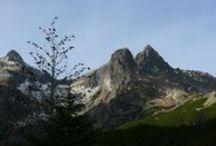 Góry /  tam gdzie byłam...