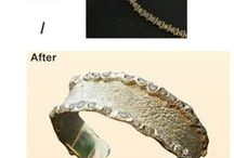 Jewelry Remodeling - Before / After Results / Thinking about remodeling -  recycling your old fashioned or inherited jewelry? Experiencing the joy  of wearing your modernized sentimental jewelry. Custom tailor made jewelry is an exciting project as you can see from these amazing Before / After Remodeling transformations.