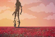 Pixel Art / 8 bit and pixel art