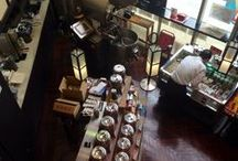 Cafe, tea & coffee  カフェ / Coffeeなどひと休み適地での珈琲や紅茶など
