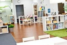 Classroom Interior and places