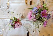Floristry at the Gstaad Palace