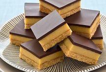 Brownies / Sweet gooey salted