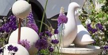 RHS Chelsea Flower Show 2018 / Sculpture gardens at RHS chelsea 2018 and new garden ornaments unveiled by Chilstone