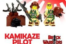 New Products Revealed! / All of BrickWarriors latest products!  Custom Lego weapons, guns, armor, helmets, accessories, and minifigures