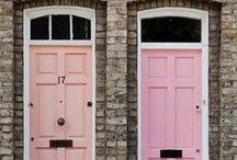 Wonderful doors on Pinterest / Vackra bilder på dörrar från Pinterest. / / Beautiful images of doors from Pinterest.