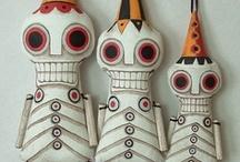 Character Design / Creepy & cute creatures / by Paulette von Pruszak
