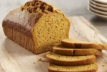 Sweet and Savory Breads / Libby's Pure Pumpkin adds a flavorful twist to your favorite sweet and savory breads.