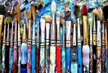 Studios&An Artist's Tools