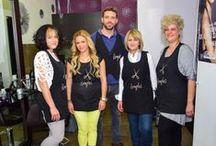Our Salon / photos from our Salon #agiaparaskeui #Romylos