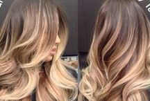 Ombre - sombre / ideas for colouring your hair with ombre - sombre technique