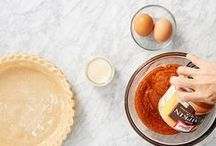 LIBBY'S Pumpkin Pie 201 / The official holiday pie resource from LIBBY'S Pumpkin. Meet our experts, check out our tips & pre-heat the oven. / by LIBBY'S Pumpkin