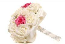Bridal Brooch Heirloom Bouquets & Flower Girl wands