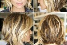 Balayage - Highlights - lowlights - ανταύγειες / Hair ideas for colouring your hair with balayage - highlights - lowlights