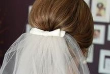 Wedding Day - bridal - γάμος - νύφη / Ideas for bridal's hair, nail, wedding dress and make up