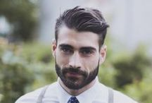 Men's haircut and beards - Ανδρικό κούρεμα και γένεια / Ideas for man's haircut and beards style