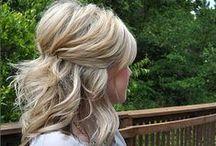 Half Up / Hair ideas for halp up hair