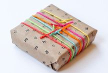 Gift Wrapping Ideas / Creative gift wrapping ideas for birthdays, Christmas, weddings and every other event!