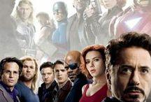 Heros / Tableau sur les héros de Bande dessiné