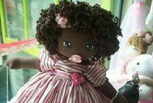 Poupées noires / poupée noire, poupée africaine, estime de soi, éducation, beauté noire, afro, dreadlocks, tresses, twists, twa